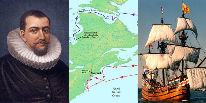 English navigator Henry Hudson