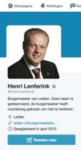 sock-sherlocked-henri-lenferink-leiden-burgemeester-twitter