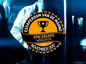 Escape Room van de maand