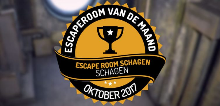 escaperoom van de maand escape room schagen oktober