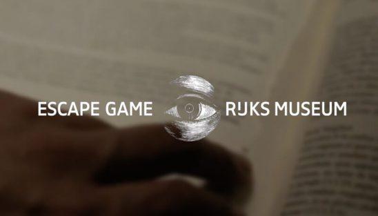 rijksmuseum escape game